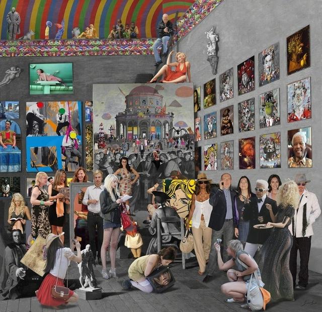 Lluis Barba, 'The Studio of the Painter, Pierre Subleyras', 2012, Cynthia Corbett Gallery