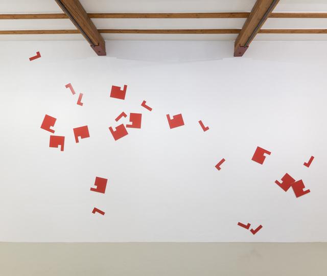 , 'moulin rouge, zufallsstreuung,' 1995-2017, Edition & Galerie Hoffmann