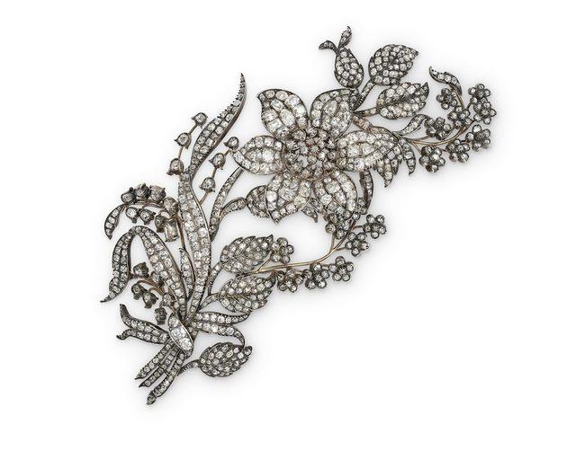 , 'An Antique Diamond Corsage,' 1860, Wartski