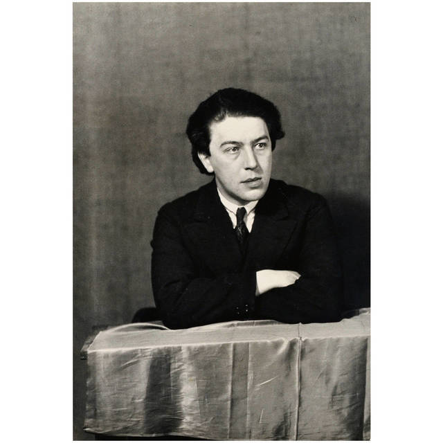 , 'Photography of André Breton,' 1932, DADA STUDIOS