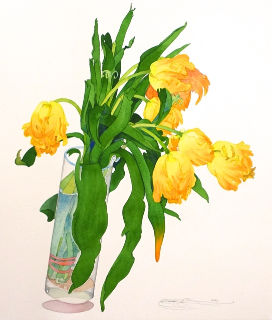 , 'Parrot Tulips,' , The Bonfoey Gallery