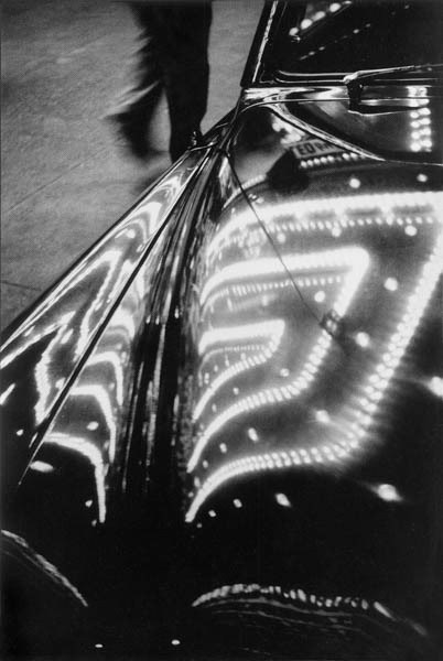, 'Times Square Lights Reflected on Car,' 1953, Galerie Thierry Bigaignon
