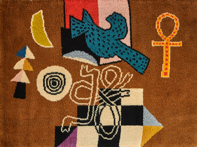 Alan Davie, 'Bird Wall', 1975, Textile Arts, Wool, Rago/Wright