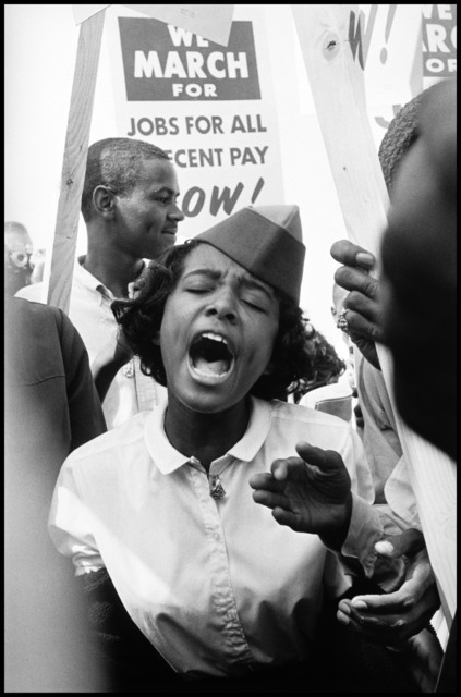 , 'The March on Washington. Washington, D.C, USA.,' 1963, Magnum Photos