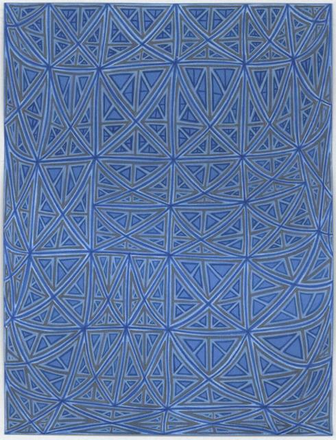 , 'Sagging Grid,' 2006, DANESE/COREY