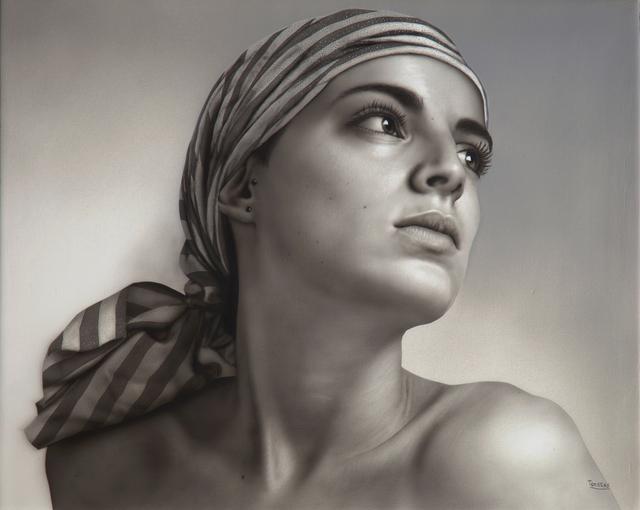Bernardo Torrens, 'Diana VI', 2018, Painting, Acrylic on wood, Louis K. Meisel Gallery