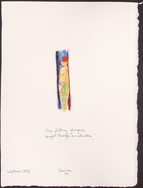 , 'One flitting glimpse...,' 2004, BlackBook Presents