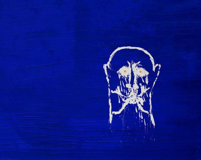 Mimmo Paladino, 'Anacreonte', 1990, Print, Screenprint, etching, carborundum and embossing, Goldmark Gallery