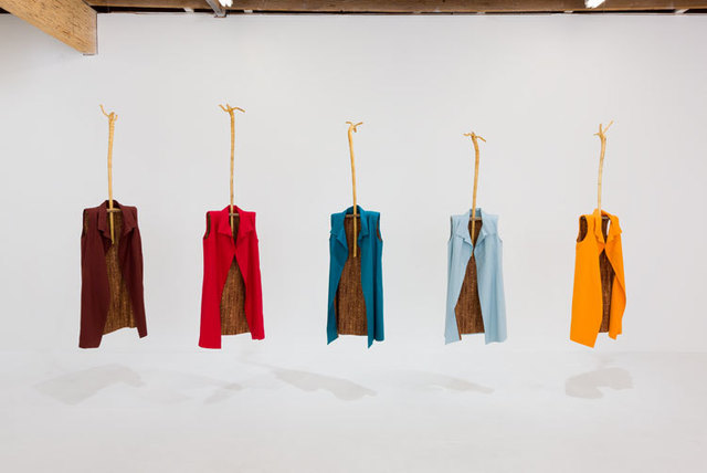 Phyllis Green, 'Five Sheaths', 2017, Chimento Contemporary