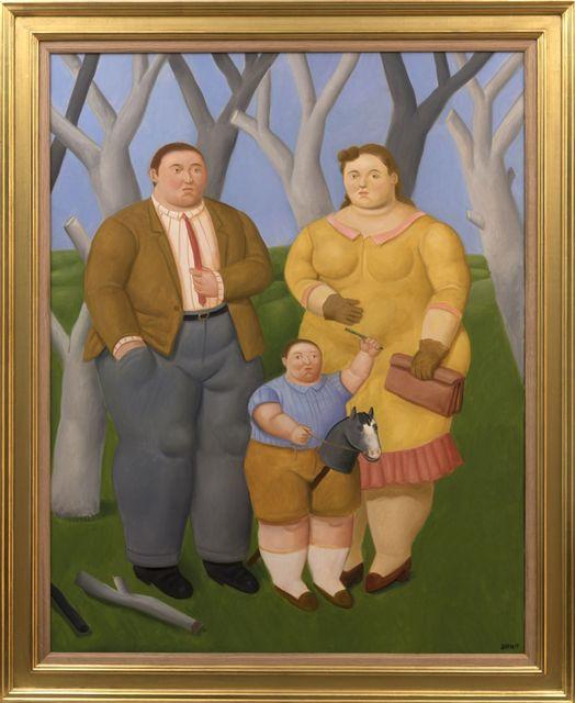 , 'Familia en el campo,' 2017, David Benrimon Fine Art