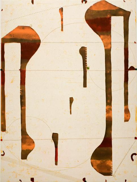 Caio Fonseca, 'Three String Etching, Ombra', 2006, Alan Avery Art Company