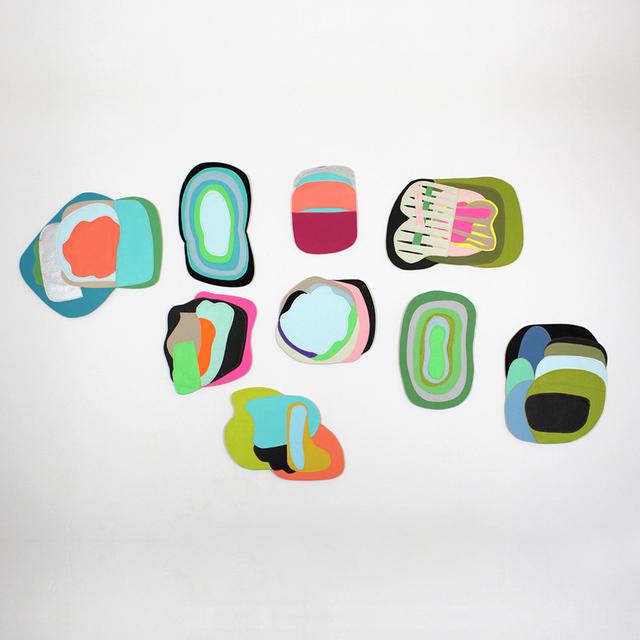 """Claudia Vivero, 'Instalación serie """"Superpuestos""""', 2014, Artig Gallery"""