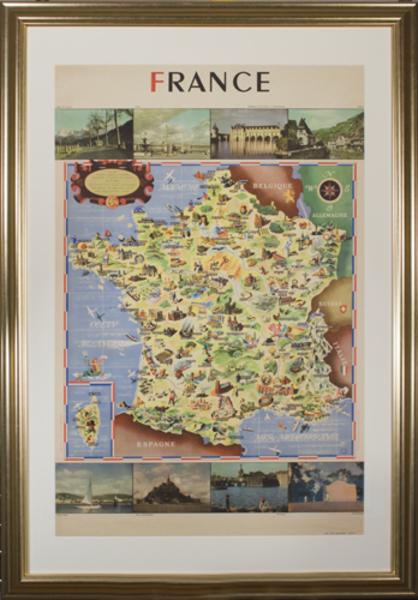 , 'France (Societe Nationale des Chemins de Fer Francais),' 1947, David Barnett Gallery