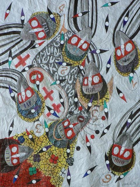 , 'Tombe du ciel @ metaphisikawale,' 2014, Sitor Senghor - (S)ITOR