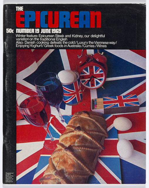 , 'Epicurean Magazine Cover Design Number 19,' 1969, National Gallery of Victoria