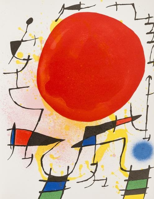 Joan Miró, 'Lithographies I (Mourlot 854, 857-867)', 1972, Forum Auctions