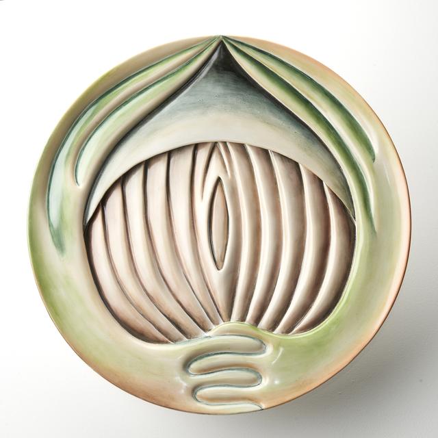 Judy Chicago, 'Hrosvitha Test Plate', 1979, Jessica Silverman Gallery