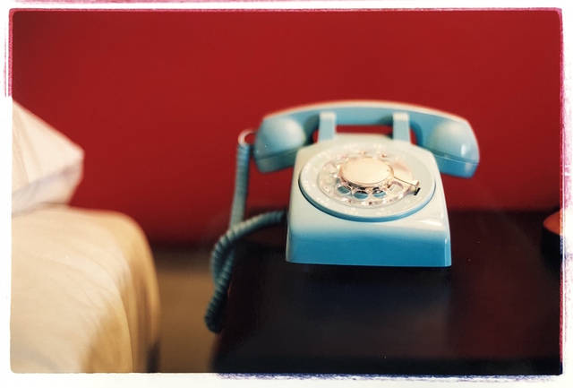 , 'Telephone I,' 2002, Bleach Box