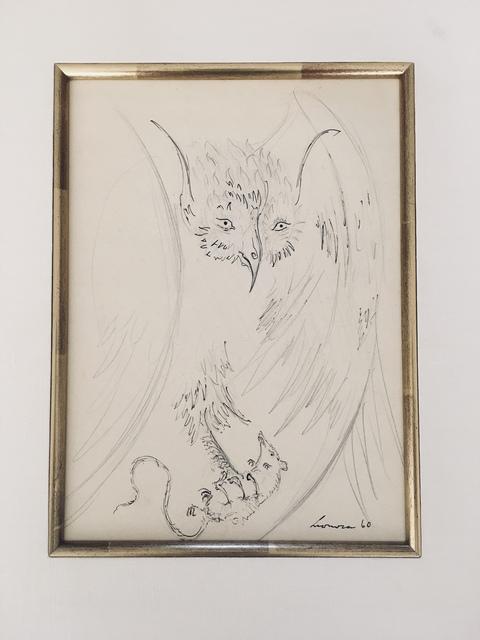Leonora Carrington, 'Owl with Prey', 1960, Maximilian Contemporary