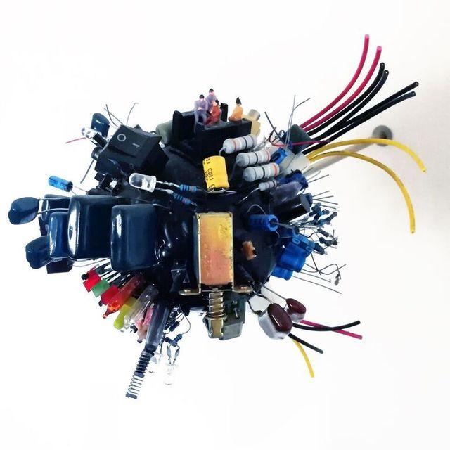 , 'Spherical Postcards; Technology ,' 2014, The Directed Art Modern