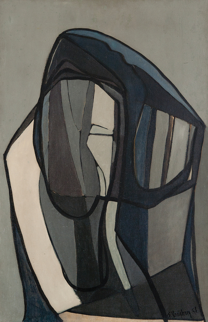 , 'A Face,' 1951, Galeria Frente