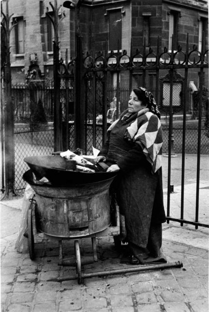 , 'Chestnut Vendor, Paris, France. 1950,' 1950, Artist's Proof