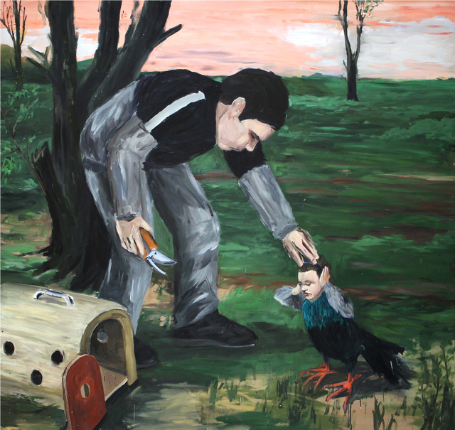 , 'Ave/Bird,' 2014, Tyburn Gallery