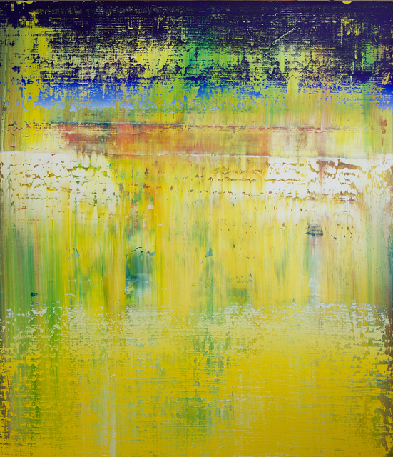 , 'abstract with yellow #63,' 2018, FP Contemporary