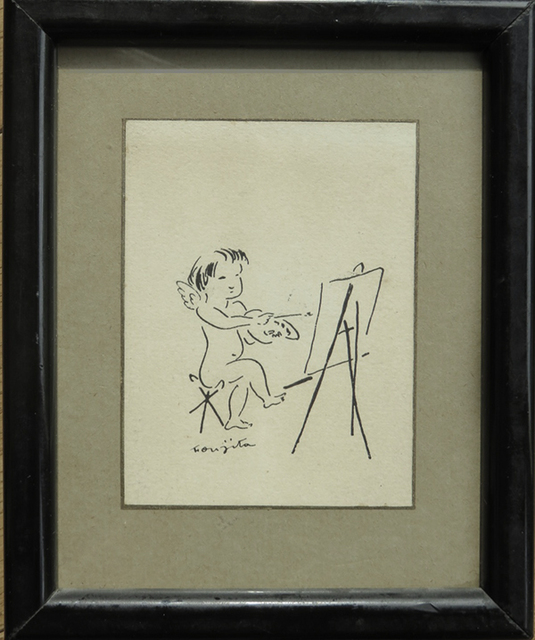 , 'Amour devant le chevalet /  Cupid in front of the easel,' c.1930, Fairhead Fine Art Limited