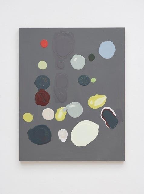 , 'Schwarzgrau-gelb I,,' 2013, Galería Heinrich Ehrhardt