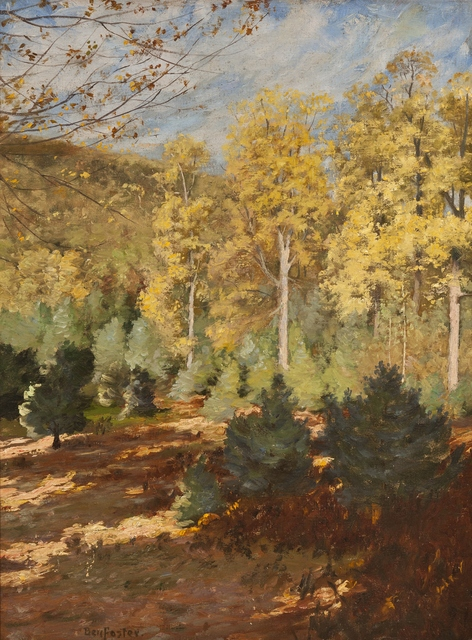 Ben Foster, 'Yellow Foliage', ca. 1910, Private Collection, NY