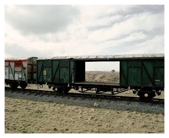, 'Train Carrianges, Copehill Down,' 2006, Francesca Maffeo Gallery