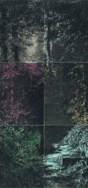 , 'Apologie des Zufälligen (Begegnung im Walde 02),' 2017, Christine König Galerie