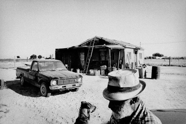 , 'Texas migrant at his home. Allensworth, California.,' 2001, Anastasia Photo