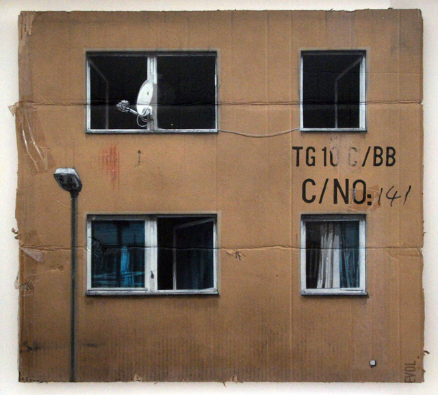 , 'CNo4 (HPM, Neighborhood Watch Version #4),' 2011, Jonathan LeVine Projects