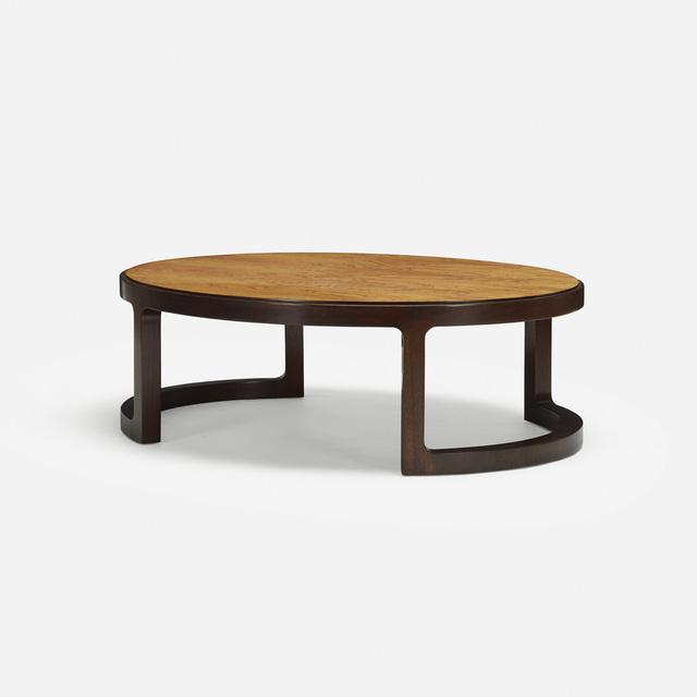 Edward Wormley, 'coffee table', c. 1967, Wright
