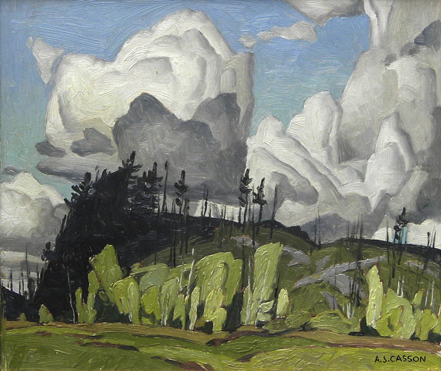 Aj Casson Paintings For Sale