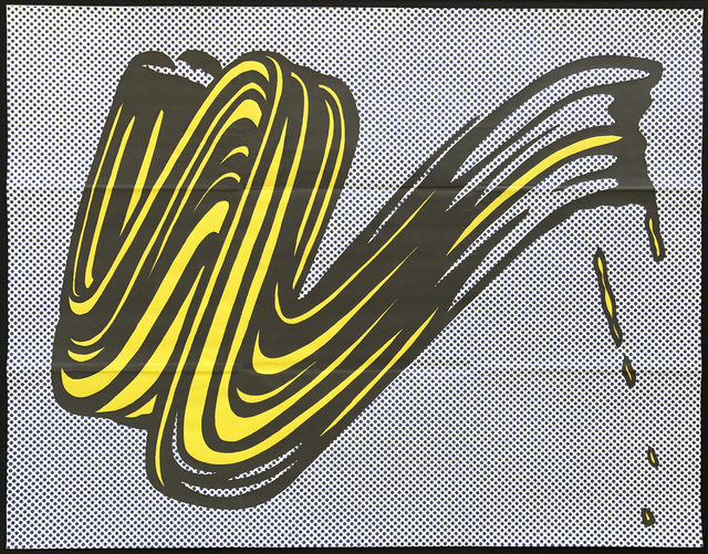 , 'Brushstroke (Leo Castelli Gallery Invitation),' 1965, MLTPL