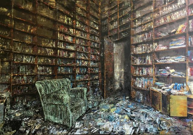 , 'Poltrona Verde,' 2017, Ransom Art