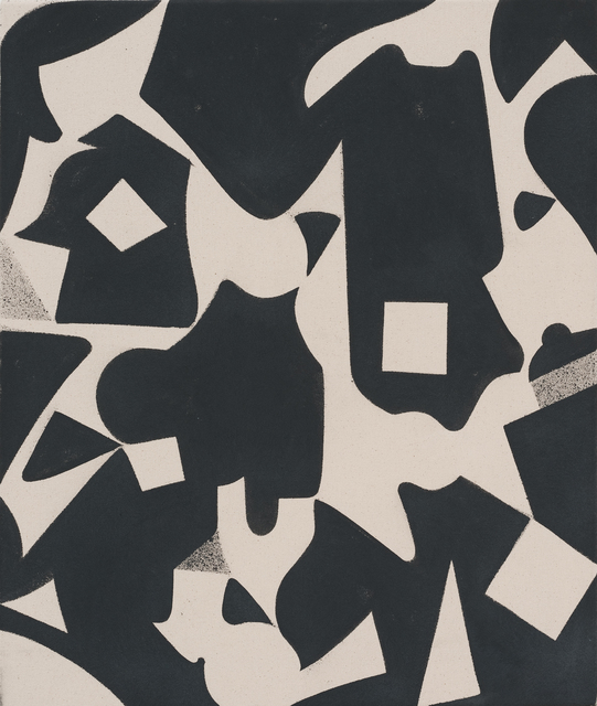 , 'Untitled (Shape Painting, Grey),' 2012, Roberts Projects