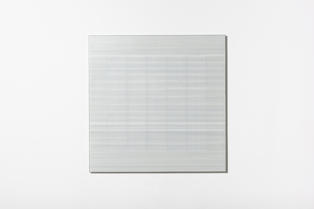 , 'In the Vicinity of White (Grid) #5,' 2018, Bullseye Projects