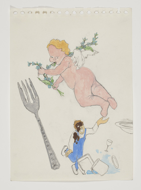 , 'Putti Poop on the Dishwasher,' 2012, Galerie Laurent Godin