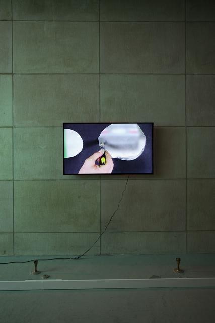 , 'Bubble Over Green 1,' 2015, Simon Preston Gallery