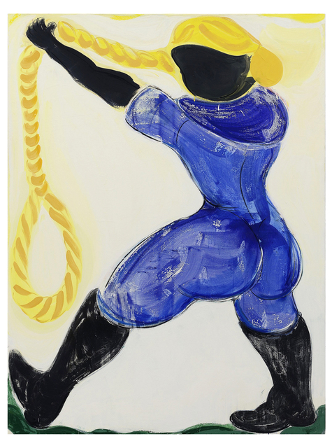 Grant Foster, 'Beside the Boot the Truncheon Rests ', 2016, Painting, Charcoal, pigment glue, oil on canvas, Lychee One