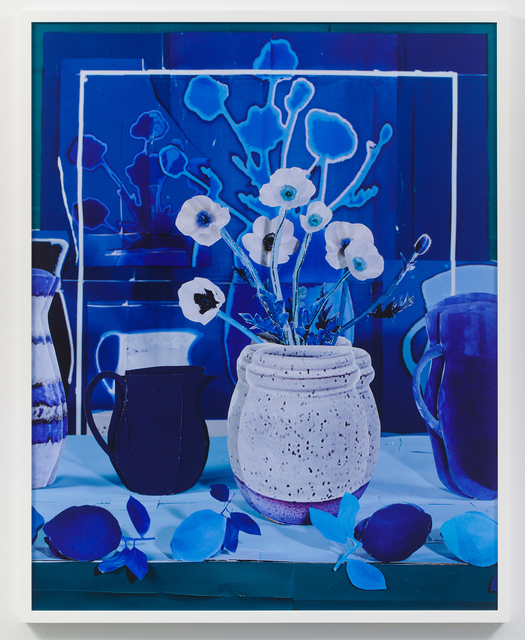 , 'Still Life with White Poppies with Blue Lemons,' 2018, James Fuentes