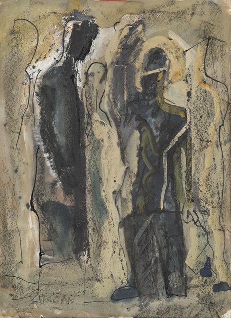 , 'Figures,' 1950-1940, Brun Fine Art