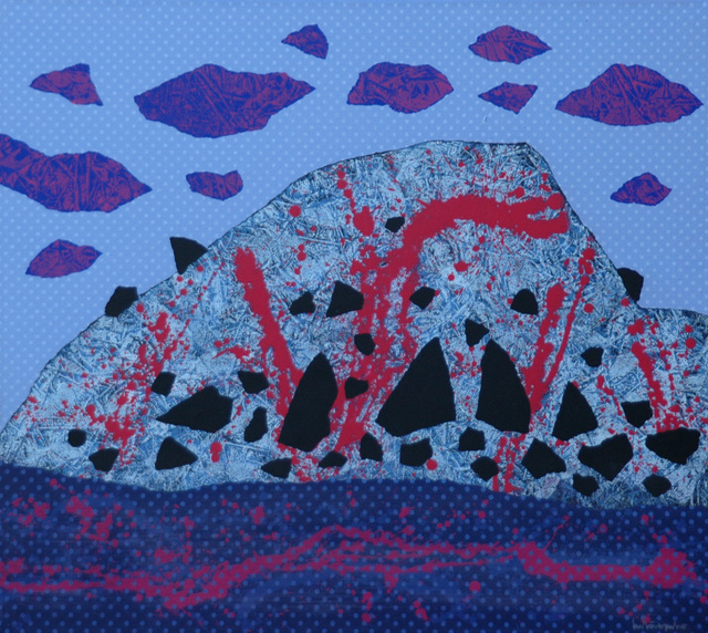 , 'Deep Blue,' 2013, Museum of Modern Art Dubrovnik