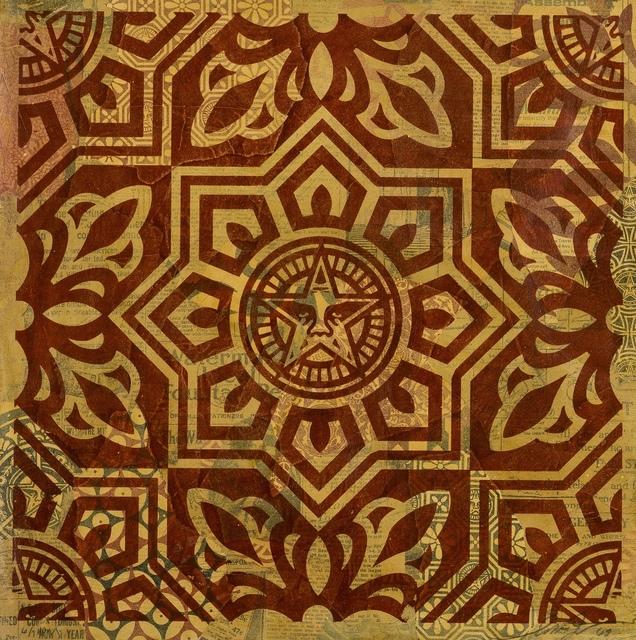 Shepard Fairey, 'Venice Pattern: Red', 2009, Forum Auctions