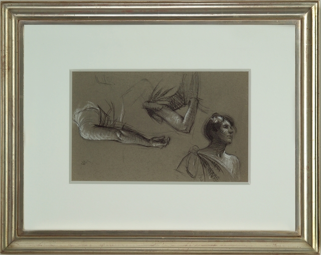 , 'Three Studies of a Woman,' ca. 1900, Thurston Royce Gallery of Fine Art, LTD.