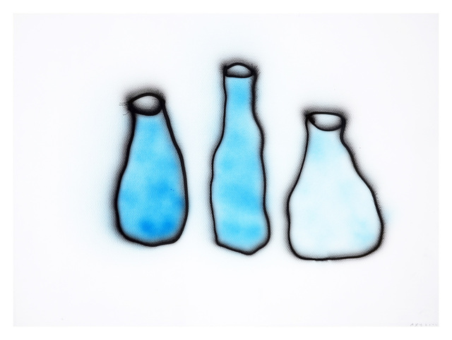 Anne-Lise Coste, 'Morandi (Three Blue Bottles II)', 2014, Lullin + Ferrari